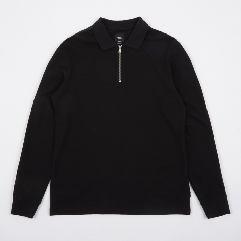 Vault x LQQK Studio LS Polo - Black