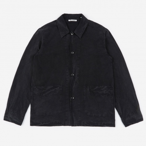 Archive Box Jacket - Charcoal