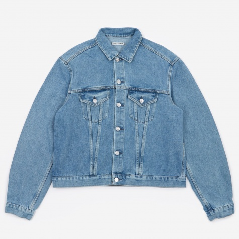 Mud Ride Jacket - Blue Denim