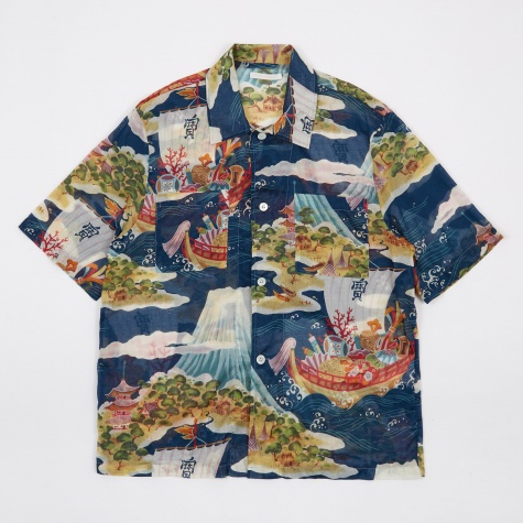Crossing The Seven Seas Shirt - Multi