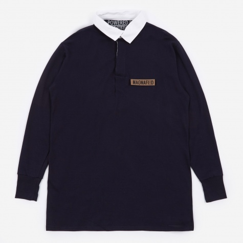 Made in UK Oversized Rugby Shirt - Navy