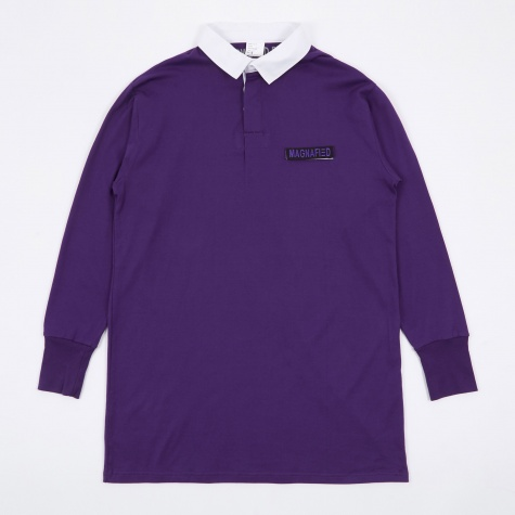 Made in UK Oversized Rugby Shirt - Purple