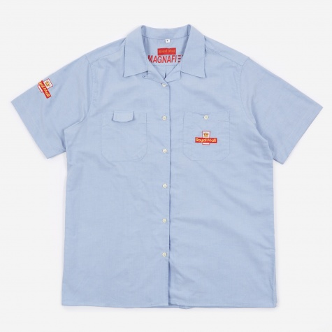Made in UK Royal Mail SS Shirt - Blue
