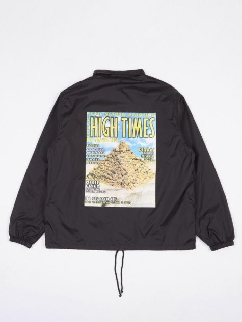 x High Times Coach Jacket (Type 4) - Black