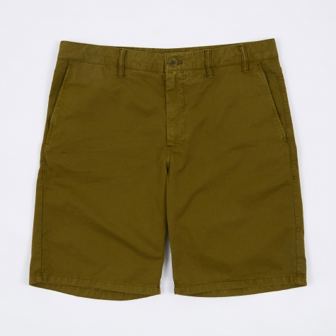 Aros Light Twill Shorts - Kelp Green