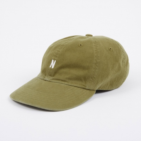 Light Twill Sports Cap - Kelp Green