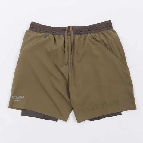 NRG Woven Short - Olive/Midnight