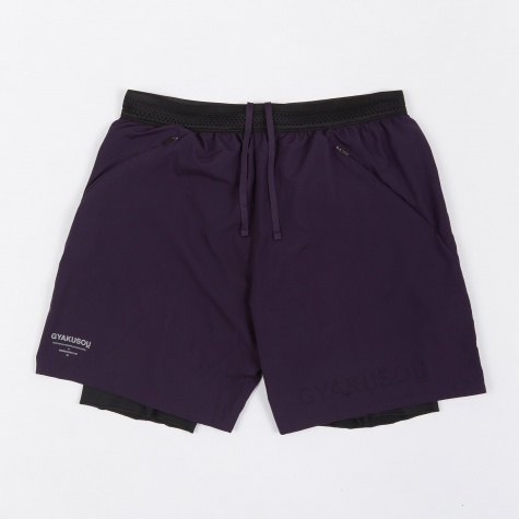 NRG Woven Short - Purple/Black