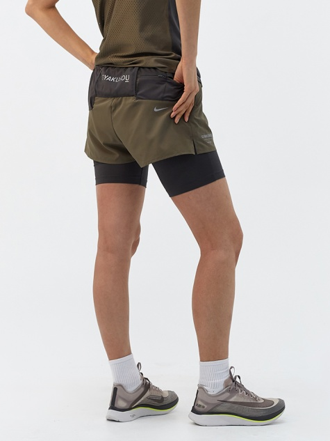 W NRG Woven Short - Olive/Midnight