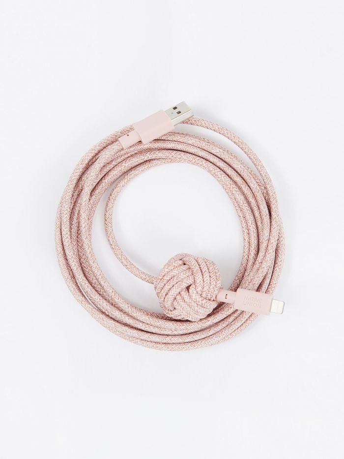 Native Union NIGHT Cable - Rose KV (Image 1)