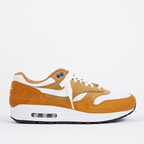 Air Max 1 Premium Retro Shoe - Dark Curry/True White-Sport