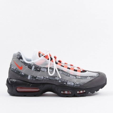 x Atmos Air Max 95 Print - Black/Bright Crimson-Medium Ash