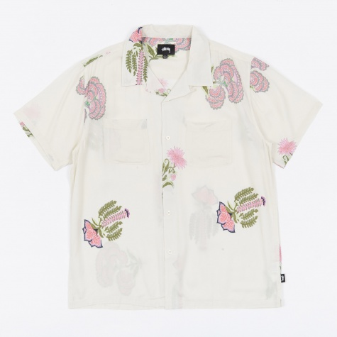 Hana Printed Shirt - White