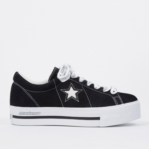 x MadeMe One Star Platform - Black/White