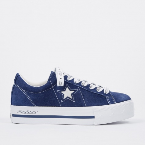 x MadeMe One Star Platform - Blue/White