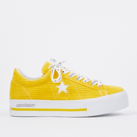 x MadeMe One Star Platform - Yellow/White
