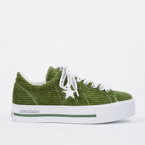 x MadeMe One Star Platform - Green/White