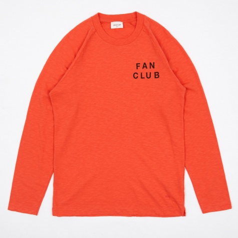Han Long Sleeve T-Shirt - Coral