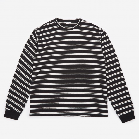 Striped Crewneck - Black/White