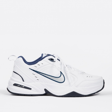 Air Monarch IV - White/Metallic Silver-Midnight