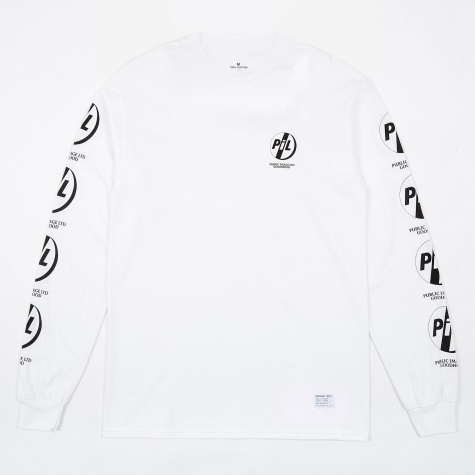 Goodhood x Public Image Ltd PiL L/S T-Shirt - White