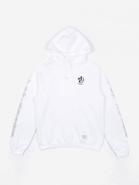 Goodhood x Public Image Ltd Tracklist Hoodie - White