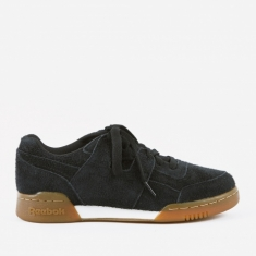 Reebok Workout Plus - Suede-Black/Gum