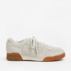 Reebok Workout Plus - Suede-White/Gum