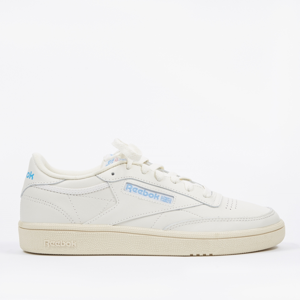 84fe35e97551a Reebok Club C 85 - Vintage Chalk Paper White Athletic Blue Exec (