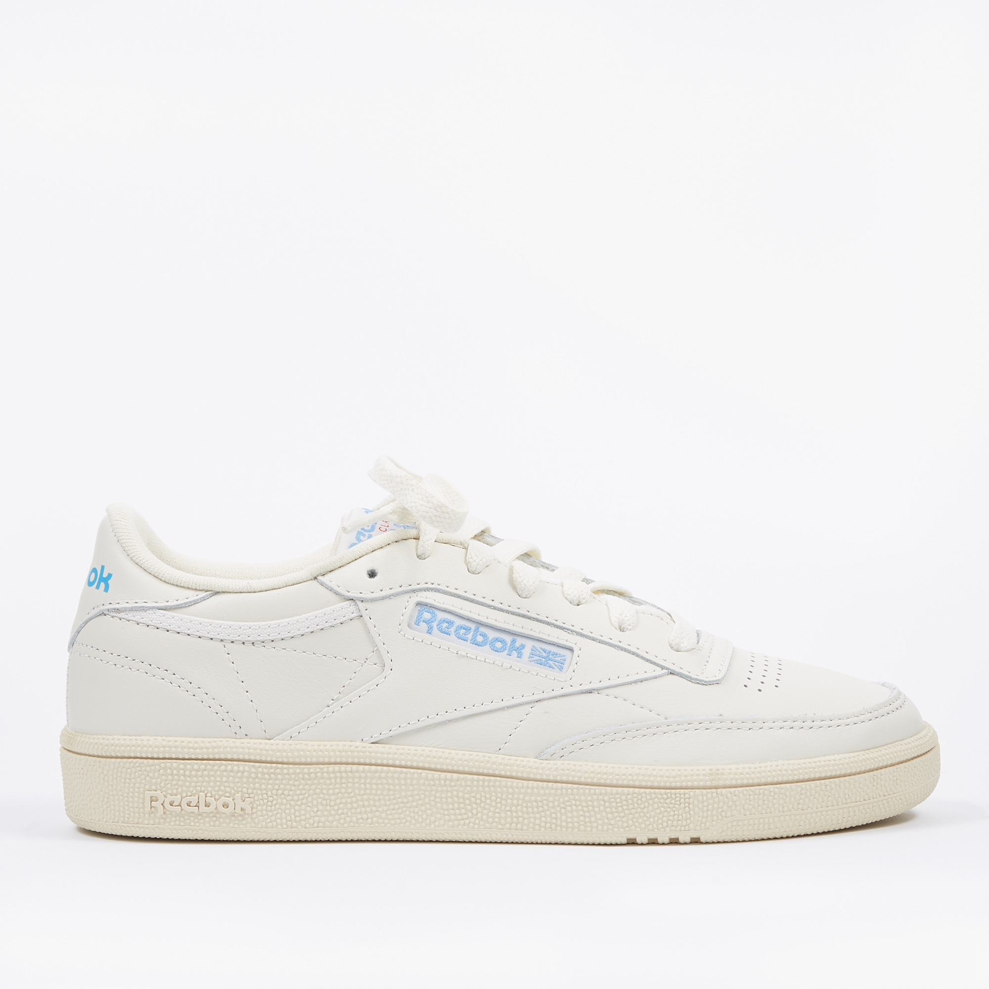 97017bca480b Reebok Club C 85 - Vintage Chalk Paper White Athletic Blue Exec