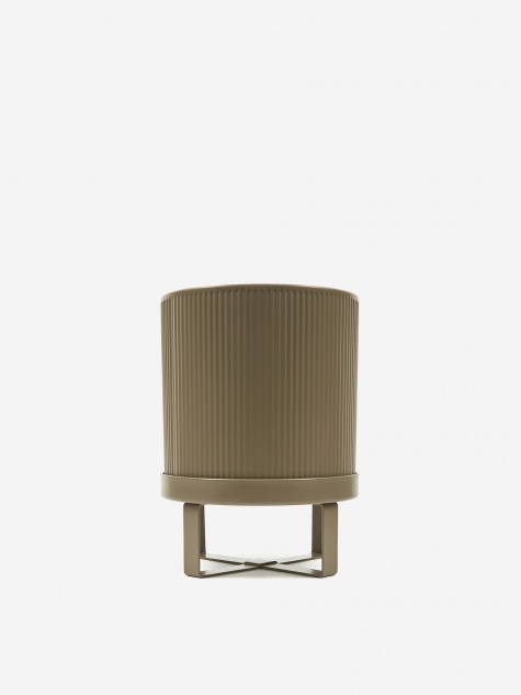 Bau Plant Pot Warm Grey - Small