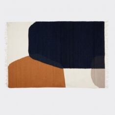 Ferm Living Kelim Rug - Merge - Medium