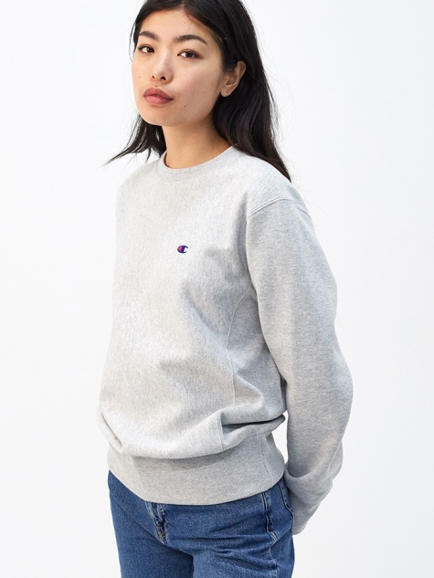 Crewneck Sweatshirt - Light Grey