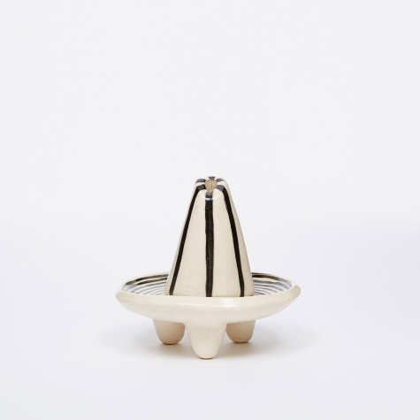 Black & White Incense Burner - Vertical