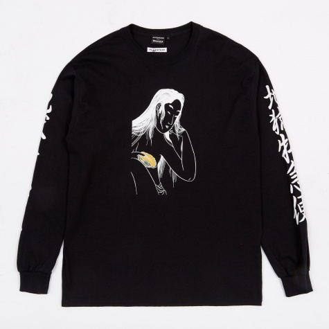 x Flagstuff Mysterious L/S T-Shirt - Black