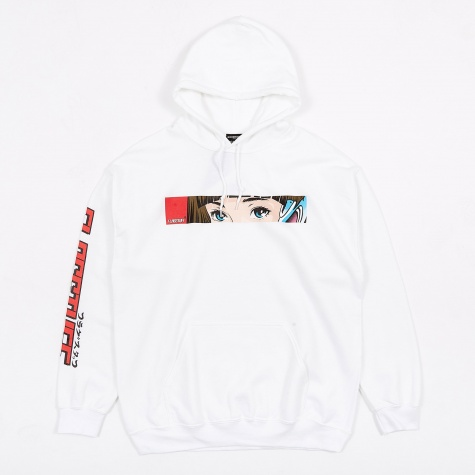 x Flagstuff D&R Hooded Sweatshirt - White