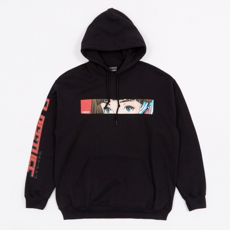 x Flagstuff D&R Hooded Sweatshirt - Black