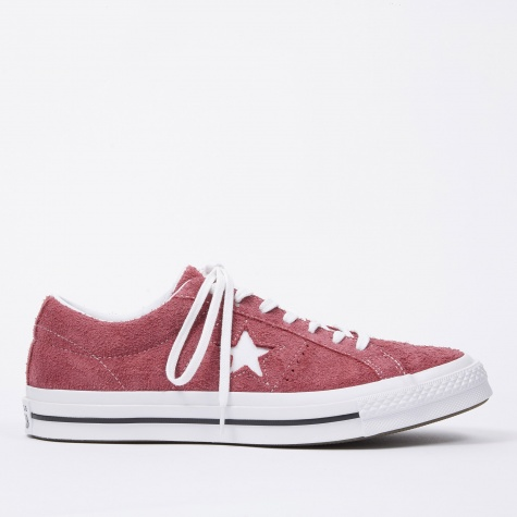 One Star Ox - Deep Bordeaux/White