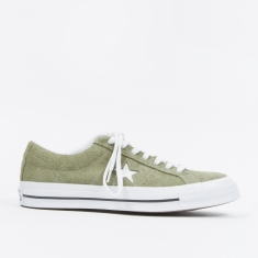 Converse One Star Ox - Field Surplus/White