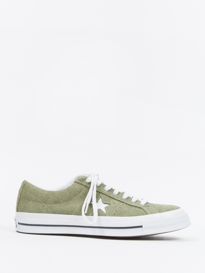 Converse One Star Ox - Field Surplus/White (Image 1)