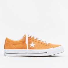 Converse One Star Ox - Bold Mandarin/White