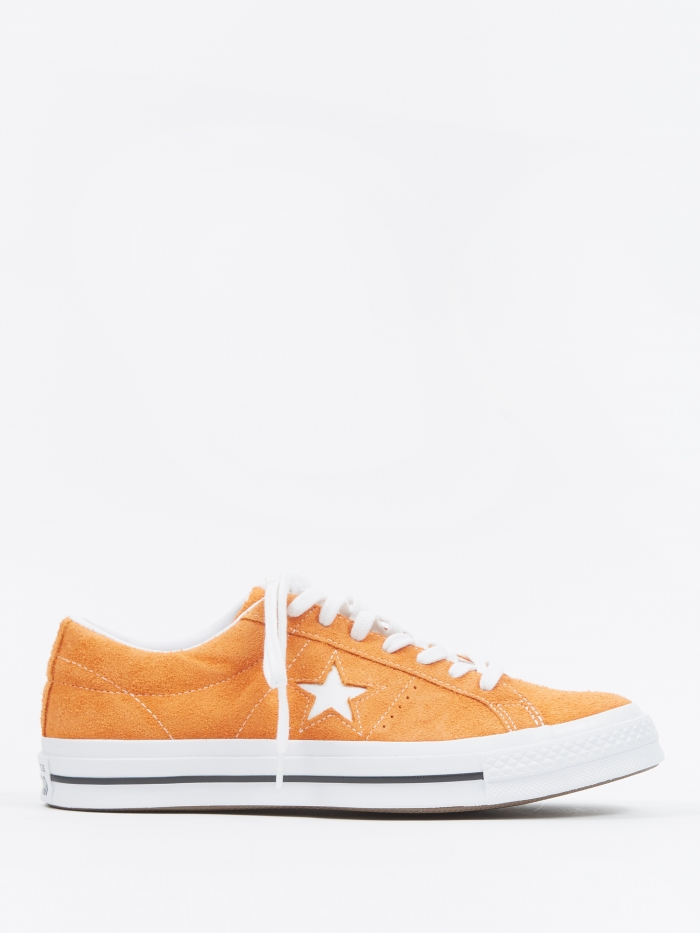 Converse One Star Ox - Bold Mandarin/White (Image 1)