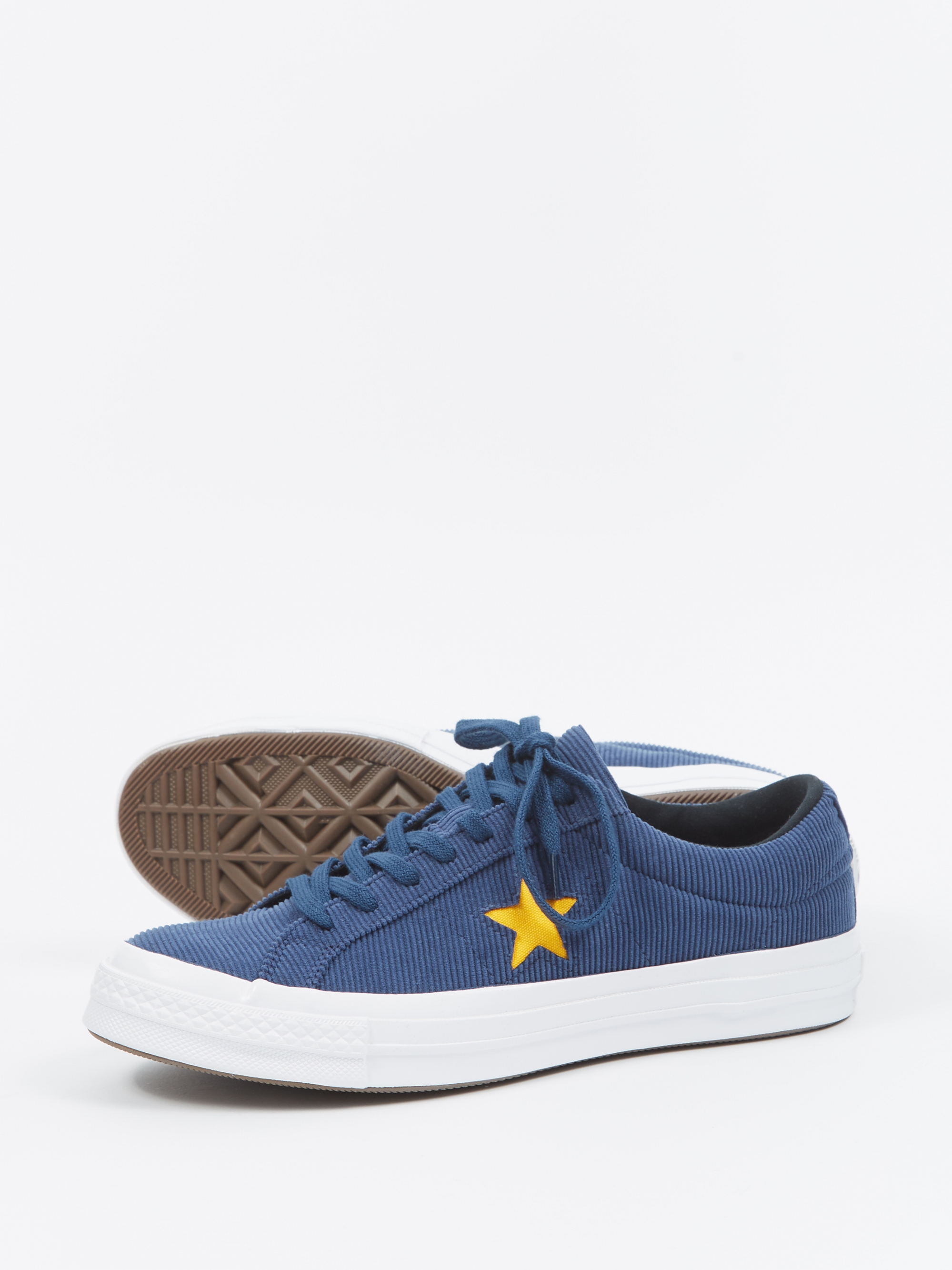 df5625aedc4a Converse One Star Ox Corduroy - Navy University Gold