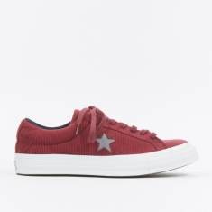 Converse One Star Ox Corduroy - Dark Burgundy/Mason