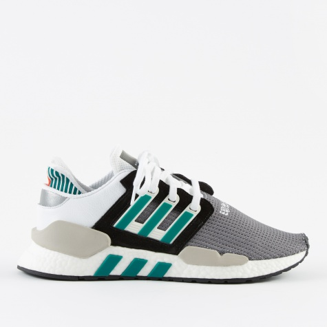 EQT Support 91/18 - Black/Clear Granite/Sub Green