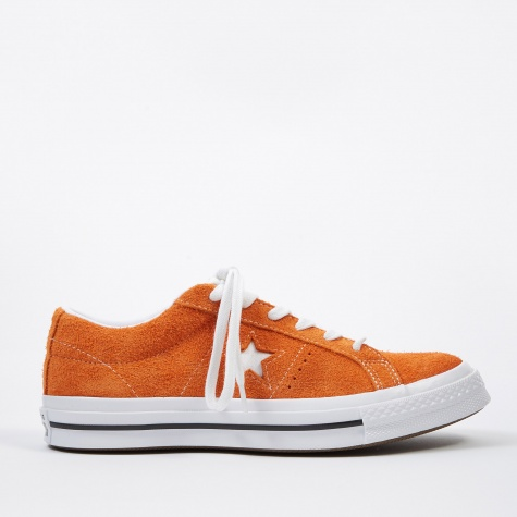 One Star Ox - Bold Mandarin/White