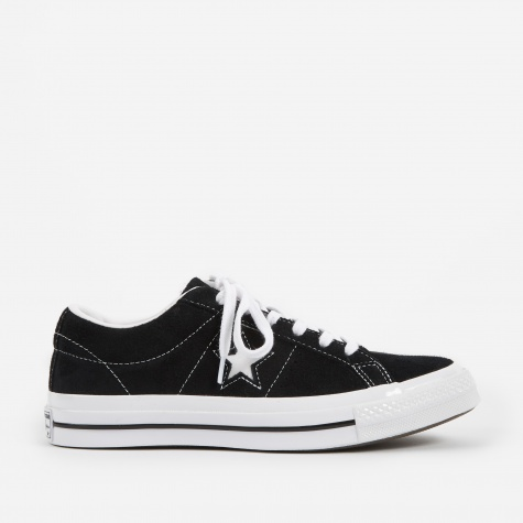 One Star - Ox - Black/White/White