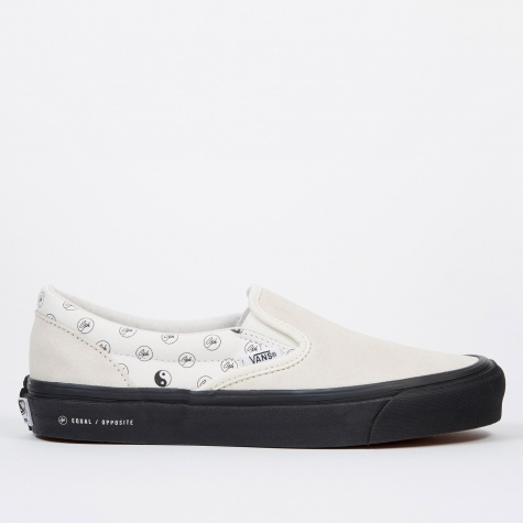 Vault x Goodhood OG Classic Slip-On LX - Marshmallow/Black