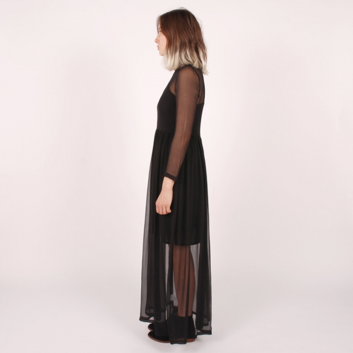 Antipodium Dearly Departed Maxi Dress - Black (Image 1)