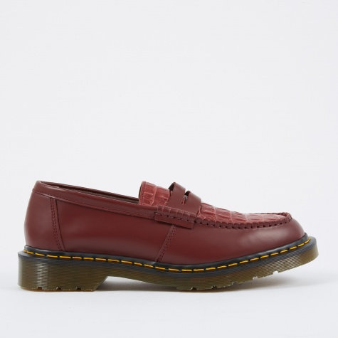 x Stussy Penton MIE - Cherry Smooth/Faux Crocodile